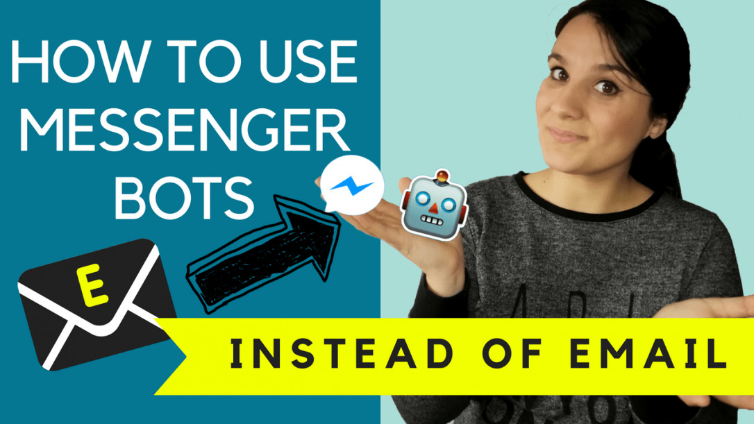 how to use messenger bots instead of email