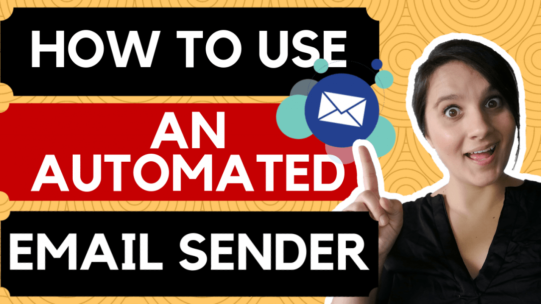 how to use an automated email sender