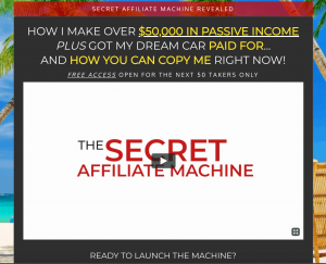 Secret Affiliate Machine Review